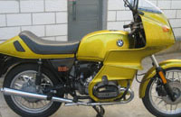 moto Bmw R100RS (año 1981)